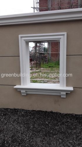 High quality foam cornice for window 100*50mm