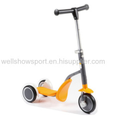 2 in 1 kids scooter /3 wheel baby scooter/ kick scooter