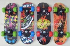 Wood skateboard/ toy skate board/17inch skateboard
