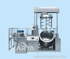 1000L de elevación Emulsionante doble cilindro