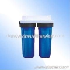 Under sink water filter system