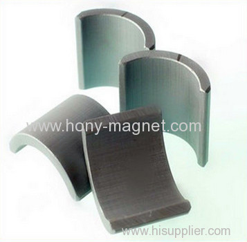 Permanent Sintered Neodymium segment Magnet/arc segment magnets/curved magnets