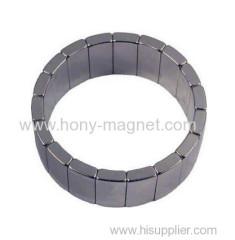 potente arco sinterizzato magnete al neodimio Magneti de neodimio per il generatore eolico