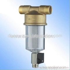 Solar water filter system