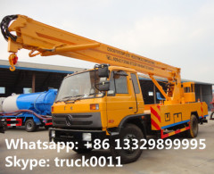 Dongfeng 20m high altitude operation truck dongfeng 153 190hp 20m overhead working truck for sale