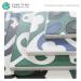 Ceramic Kitchen Emerald Green Bule White Color Porcelain Flooring Tile 30x30 Floor Tiles For Cheap