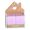 Wooden House Arts With Calendar
