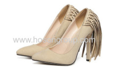 New style pointed toe ladies shoes