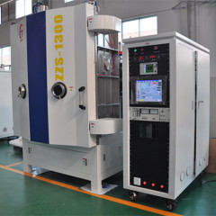 Decorative films Optical Vacuum Coating Machine for Glass Plastics