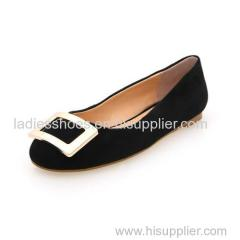 China black round toe ladies flat mulheres shoe with sequined