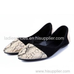 good quality women fashion flat dress shoes