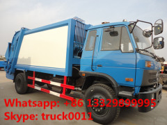 dongfeng 153 right hand drive garbage compactor truck garbage waste refuse rubbish collector