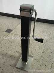 promotional hot selling heavy duty square tube trailer jack stand 8000lbs 15""