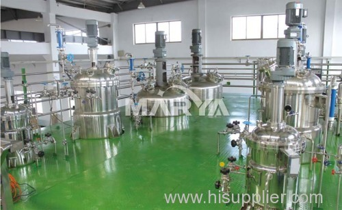 Pharmaceutical industrial preparation vessel