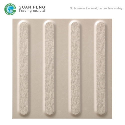 Non Slip Outdoor Paving Tiles Step Sidewalk Tactile Tile