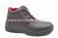 black split emboss leather safety footwear safety boots