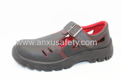AX16005C leather working shoes labour shoes safety sandals