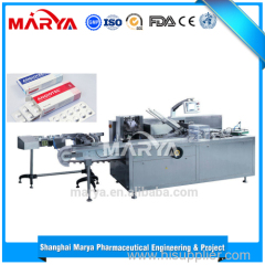 Fully automatic cartoning machine
