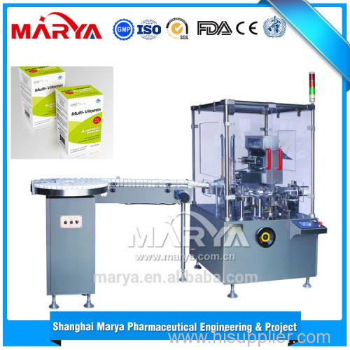 China supplier sales cheap price fully automatic cartoning machine