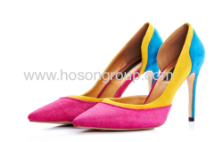 Women fashion stiletto heel dress shoes