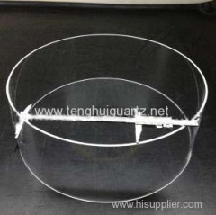 Large Diameter/Od Custom-Design Quartz Glass Tube