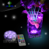 submersible fountain led light with remote control for wedding decoration
