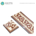 Ceramics Porcelain Italian Marble Floor Border Tiles Designs For Hall