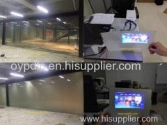 switchable smart glassrear projection glass pdlc smart glass