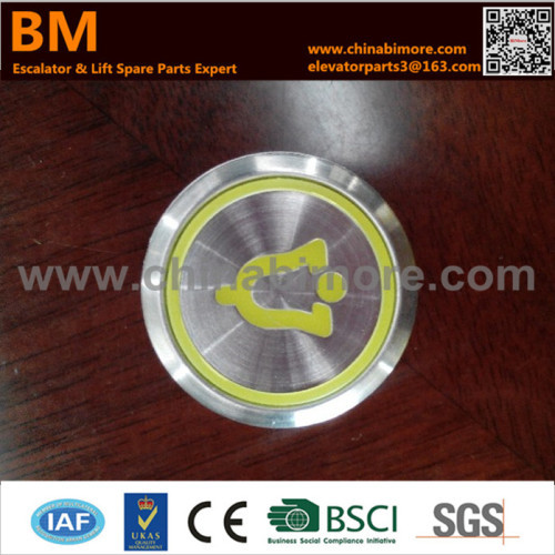 Elevator Spare Part Push Buttons for Kone from China manufacturer