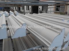 EPS decorative cornice with Acrylic base coating