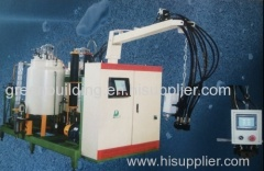 PU injection machine for PU cornice and lamp board