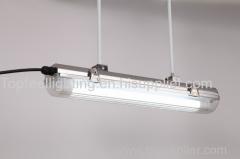 Topfeel lighting tri-proof light stainless steel fixture