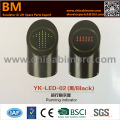 YK-LED-02 Black Escalator Running Indicator