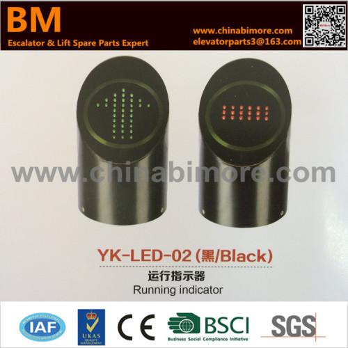 YK-LED-02 Black Escalator Running Indicator