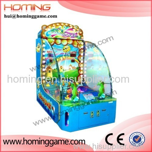 Chase duck Wheel Redemption ticket out game / Children's ticket arcade machines / prize redemption vending game