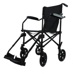 LightWeight Easily Foldable Travel Wheelchair with Bags