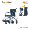 outdoor aluminum lightweight travel wheelchair for disabled