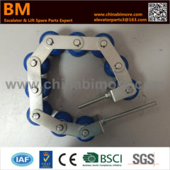 KM5130070G01 Escalator Handrail Tension Chain 8 Rollers