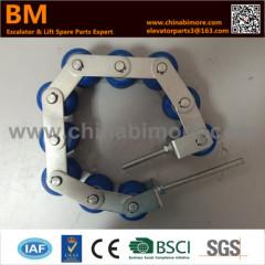KM5130070G01 Escalator Handrail Tension Chain 8 Rollers