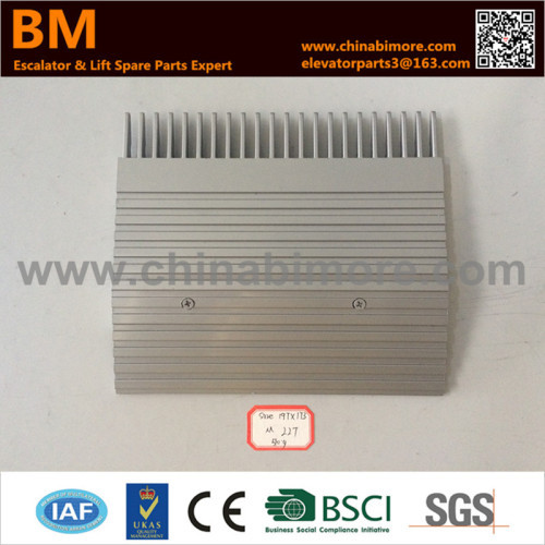 DEE1718892 Escalator Comb Plate 197.4x173.5x9x153x22TxCenter