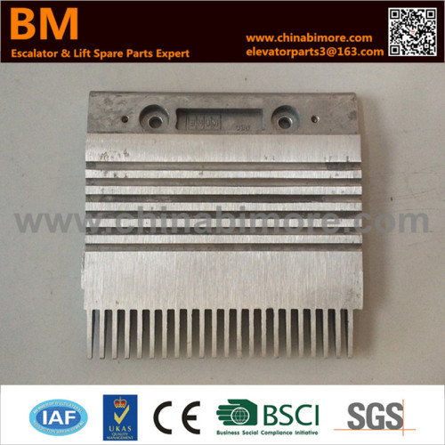 KM5002050H01 202.7x200x9x99x22T Left Escalator Comb Plate for Kone