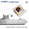 cheese plastic packing thermoformed packing machine