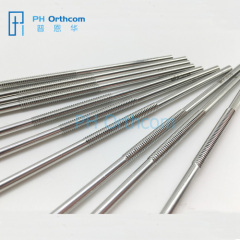 Mid Thread Positive Pins 16x20mm/20x24mm Various Size Surgical Insturments Orthopaedic Instruments