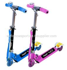 3 wheel folding kick scooter / children scooter/kids scooter with handbrake