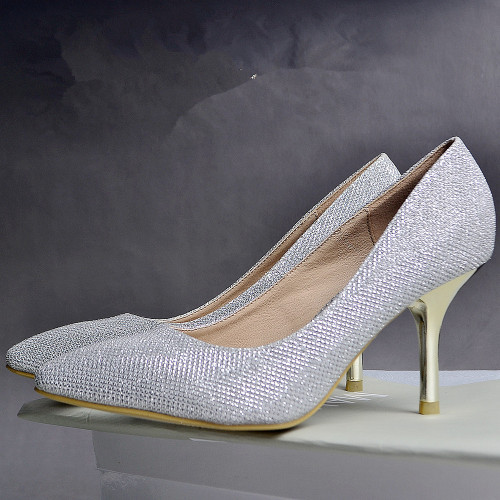 Fashion women pointed toe dress shoes