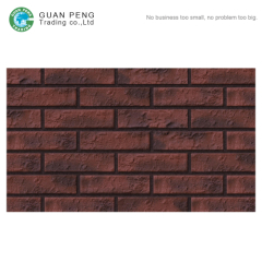 Handmade Art Brick Building Decor Stone Wall