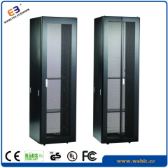 perforated door server rack