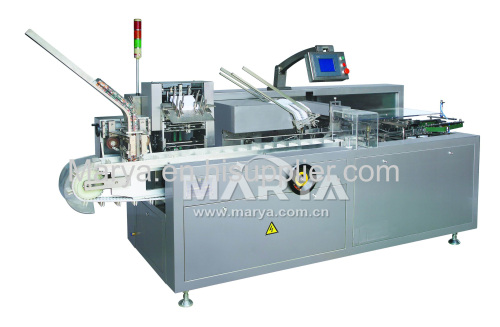 Automatic Horizontal Cartoning Machine for vial/pouch/sachet/coffee bag