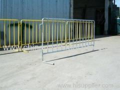 Temporary Crowd Control Guard Rail