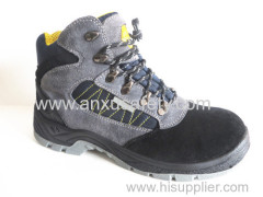 AX05014A جلد الغزال أحذية السلامة